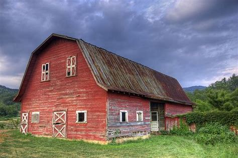 Why Do I Love Old Red Barns So Much?