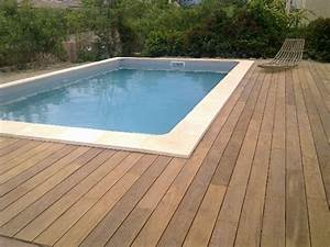 Construction pose vente amenagement de terrasses bois for Pose terrasse bois autour piscine