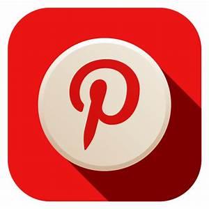 Pinterest Icon - Advanced Flat Social Icons - SoftIcons.com