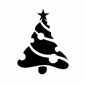 christmas tree ornaments silhouette vinyl sticker car decal With vinyl lettering for christmas ornaments