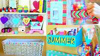 homemade room decorations DIY Room Decor   Tumblr Room Makeover! - YouTube