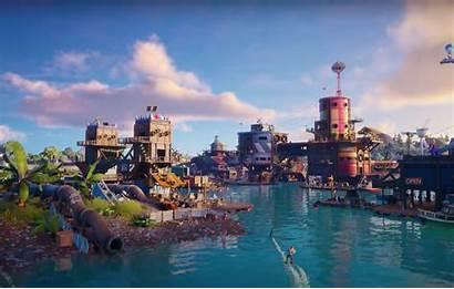 Fortnite Season Map Water Games Epic Splashdown