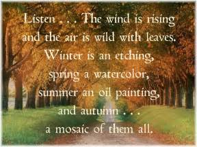 Welcome Fall Poem