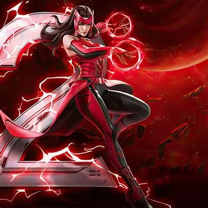 Marvel Scarlet Witch War Wallpapers Ipad Retina