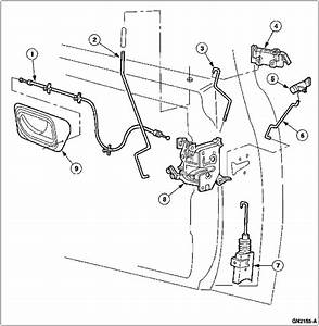 2000 Ford Ranger  Diagrams  To Replace The Door Lock Actuators