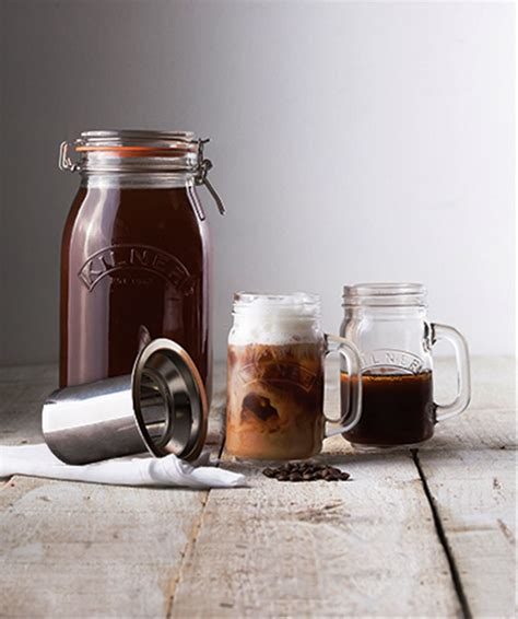 Cold brew coffee is different from regular iced coffee in that the coffee beans are never heated. NEW KILNER COLD BREW COFFEE SET Slow Drip Dripper Brewing Iced Coffee Maker 5010853233826 | eBay