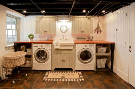 basement laundry remodel