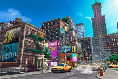 Nintendo Mario Super Backgrounds Zoom Odyssey Background
