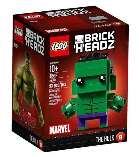 2017 LEGO Marvel Brick Headz Figures Sets Revealed ...
