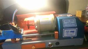 Hudson Model 598b Key Cutting Machine