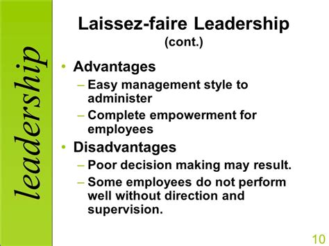 management styles autocratic  democratic  laissez faire