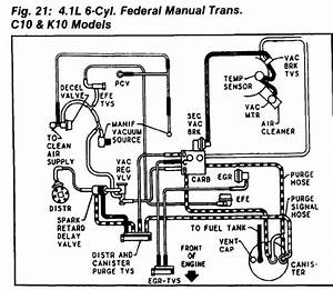 Engine Vacuum Diagram  Engine Mechanical Problem V8 Two