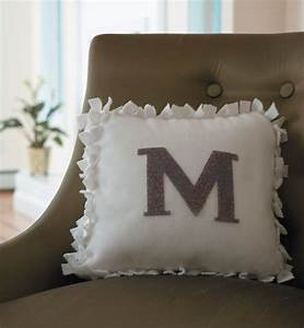16 best images about no sew ideas on pinterest monogram With best place to shop for pillows