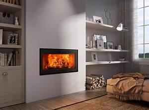 Cheminée Contemporaine Foyer Fermé : cheminee insert ou foyer ferme ~ Melissatoandfro.com Idées de Décoration