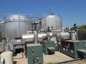 Hot Water Boilers At Anaheim Oil Pumping Field