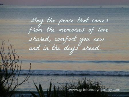 comforting quotes when someone dies may the peace comforting grief text grief and
