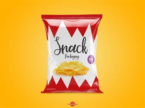 Welcome to my design portfolio on dribbble. Eye-catching Snack Packaging MockUp PSD Template - Mockup ...