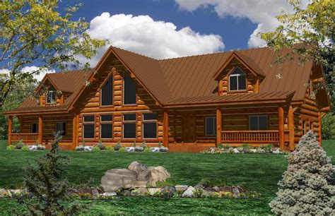 one log home floor plans one log home plans ranch log homes log cabin home