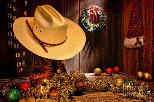 Decorating Santa Hat Ideas by Cowboy Christmas Party Photograph By Olivier Le Queinec