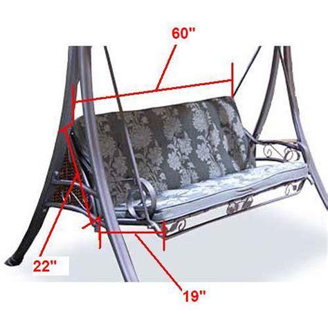 kmart patio swing chair kmart martha stewart amelia island swing replacement