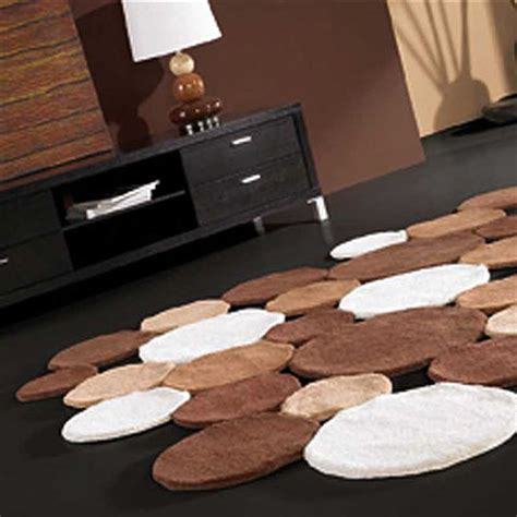 tapis marron  beige cuisine naturelle