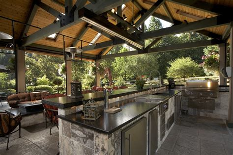 large covered outdoor living space remodel mcadams remodeling
