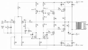 Digital Modified Sine Wave Inverter Circuit