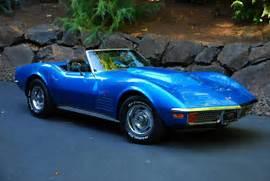 Custom 1972 Corvette Stingray Convertible