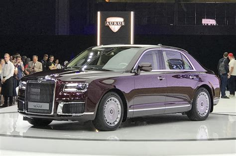 New Limousine Car by New Aurus Firm Launches Russian Presidential Limousine