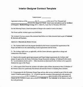 interior decorating contract template freelance graphic design contract template pdf template
