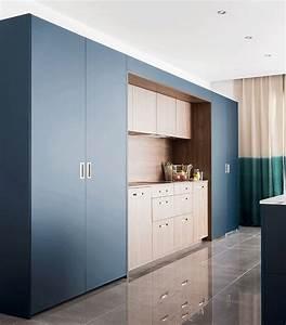 7 solutions pour des cuisines ouvertes sur salon mobalpa With cuisine cachee par des portes