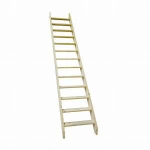 Echelle D Escalier : echelle de meunier bois de sapin largeur 65 cm ~ Premium-room.com Idées de Décoration