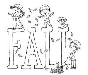 Free Printable Fall Coloring Pages Kids