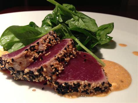seared tuna seared ahi tuna recipe youtube