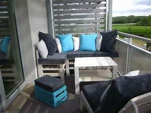 Lounge Möbel Kleiner Balkon : sitzecke f r kleinen balkon ~ Bigdaddyawards.com Haus und Dekorationen