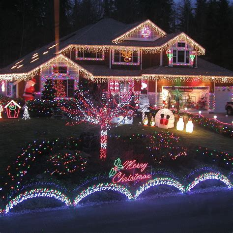 outdoor lighted christmas decorations christmas