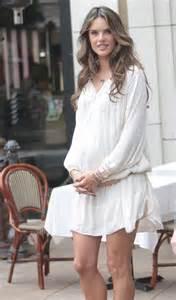 Alessandra Ambrosio Maternity Style
