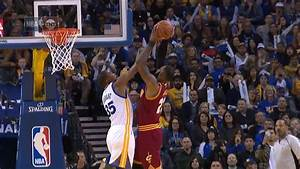 Kevin Durant Blocks LeBron James Cavaliers Vs Warriors
