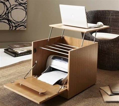 bureau imprimante meuble imprimante quelle solution choisir