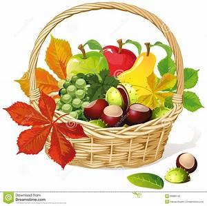 Panier A Fruit : panier avec le fruit d 39 automne photo libre de droits image 26880145 ~ Teatrodelosmanantiales.com Idées de Décoration