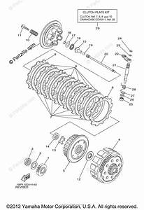 Yamaha Atv 2010 Oem Parts Diagram For Clutch