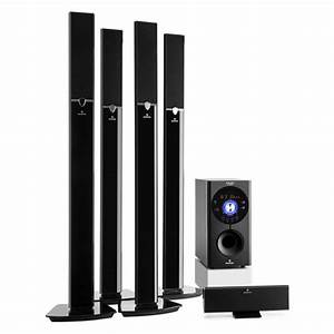 Areal 653 5 1 Channel Surround System 145w Rms Bluetooth