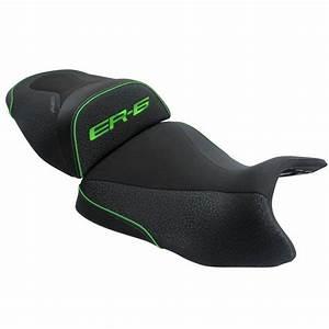 Selle Confort Er6n : selle confort bagster ready luxe noir liser vert habillage moto ~ Medecine-chirurgie-esthetiques.com Avis de Voitures
