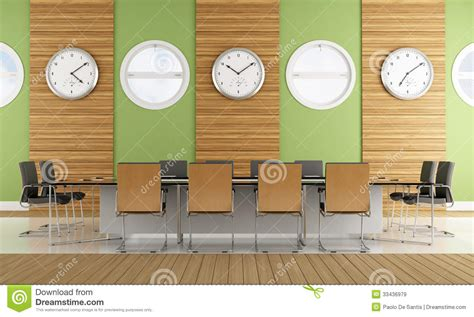 contemporary meeting room royalty  stock images