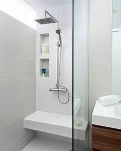Douche Petit Espace : comment agrandir la petite salle de bains 25 exemples ~ Voncanada.com Idées de Décoration
