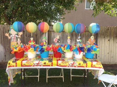 Chavo del 8 theme party Table Centerpieces 3rd