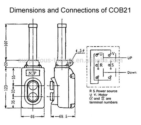 Pendant Switch Wiring Diagram by Cob21 Direct Operation Hoist Push Button Pendant Switch