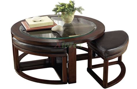 nested tables furniture aquarii coffee table with stools xiorex