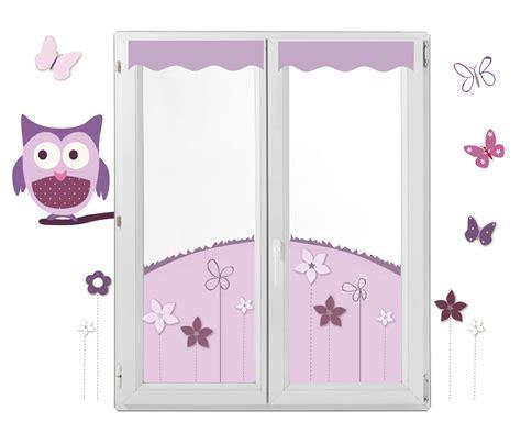 chambre autour de bébé décor fenêtre chouette et papillon en lieu et place des