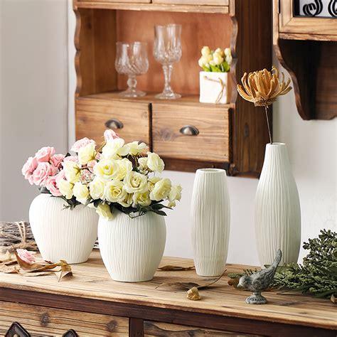 wedding decoration flower vase antique ceramic wedding decorative vase modern white ceramic vase artificial flower tabletop